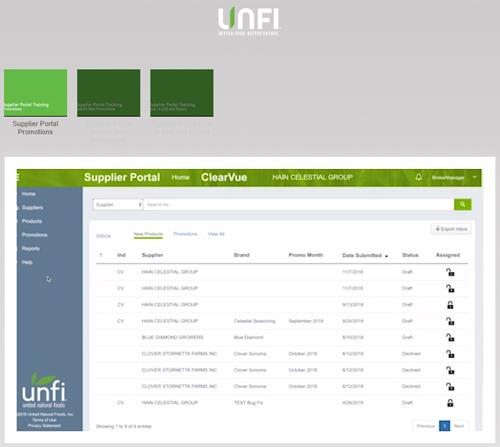 Promotions Portal Training Videos – UNFI Supplier Support